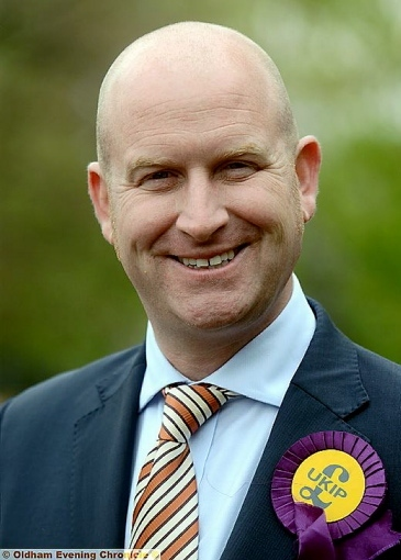 Paul Nuttall, North West MEP