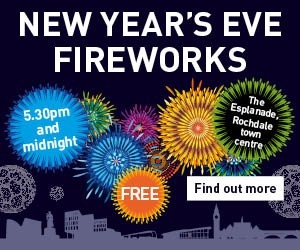 Ring in the New Year in style with an evening of entertainment in Rochdale