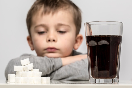 Half the sugar children consume comes from unhealthy snacks and sugary drinks