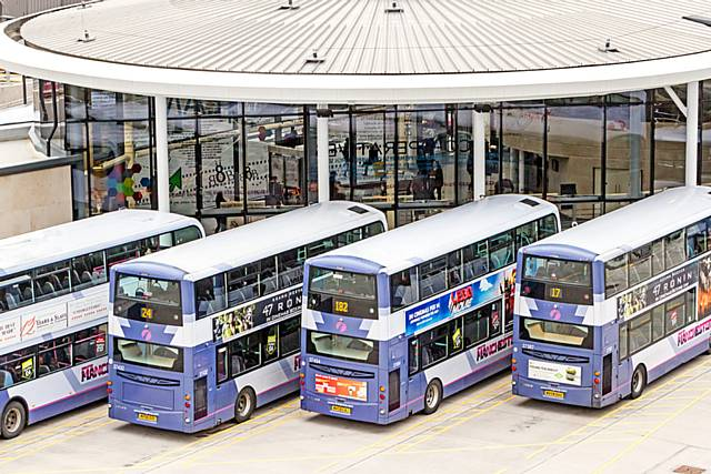 A joint ticketing arrangement between Go North West, First Greater Manchester (pictured) and Diamond Bus North West will come to an end in the New Year