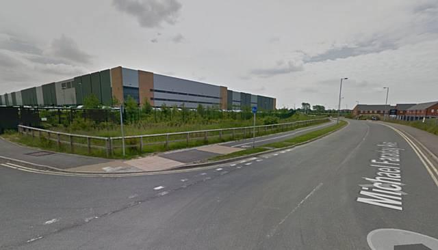 JD Sports Distribution Centre in Rochdale