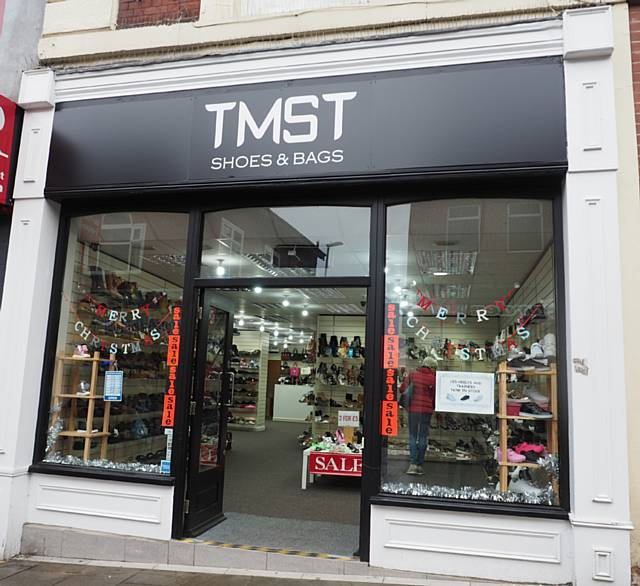Find a shoe just in time for Christmas with TMST Shoes and Bags