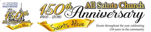150th Anniversary of All Saints Church, Hamer