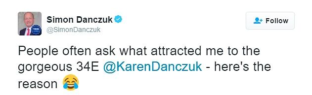 Simon Danczuk 'sexist' tweet