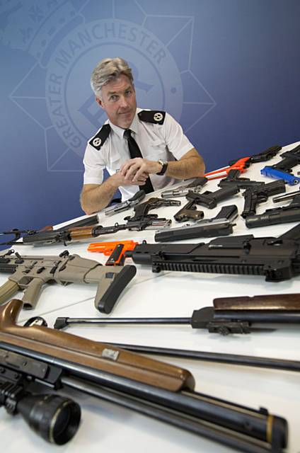 GMP is asking people to surrender their firearms