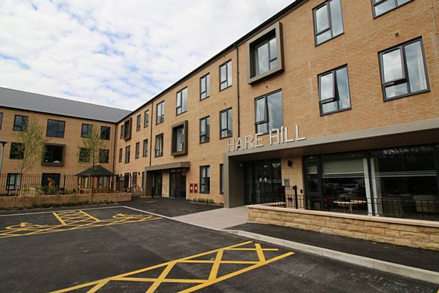 RBH's ground-breaking Extra Care scheme, Hare Hill in Littleborough