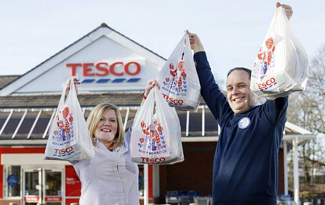 Voting launches for round two of Tesco's Bags of Help initiative
