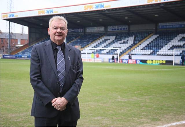 Chris Dunphy was chairman of Rochdale AFC for over 10 years