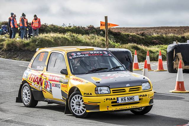 Brown in action in the Micra