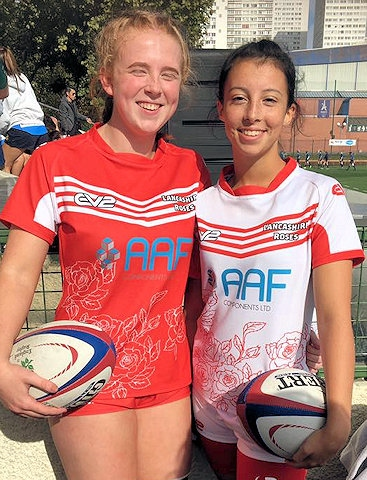 Megan Dickinson and Georgia Turner, Littleborough Rugby Club