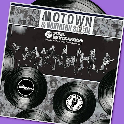 Empire Rochdale: Motown & Northern Soul Night, 8pm - 4am, Friday 13 October 2017