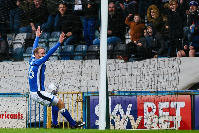 Rochdale v Bristol Rovers<br /> Matty Done scores Dale's winning goal