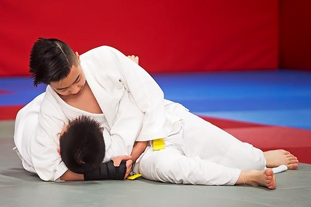 Rochdale Judo Club grading examination