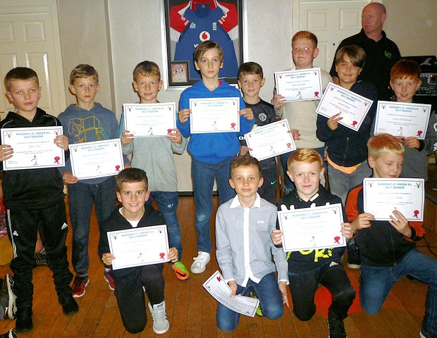 Norden Cricket Club Junior's presentation night