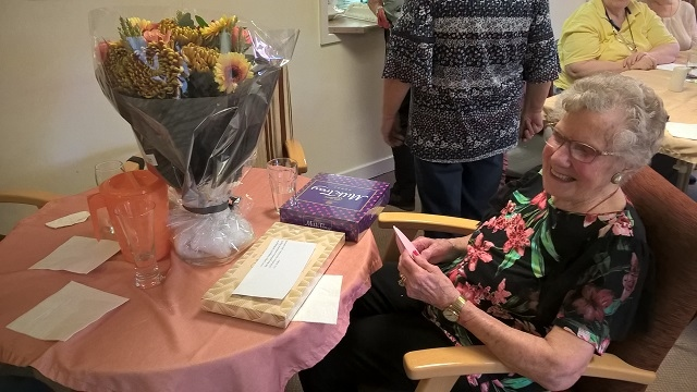 Gladys Radburn celebrates her 100th Birthday