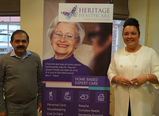 Mohammed Tariq, Heritage Healthcare Rochdale, Sue Mitchell-Dean, Registered Care Manager