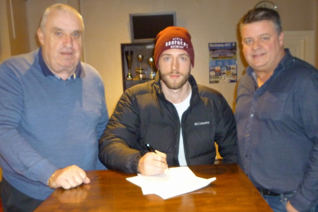 23-year-old Jake Sandham has signed to Norden Cricket Club