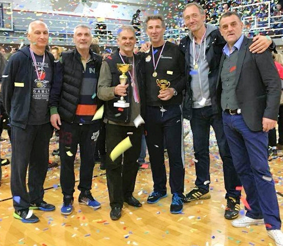 Gold medal for Simo Banjac in Serbia