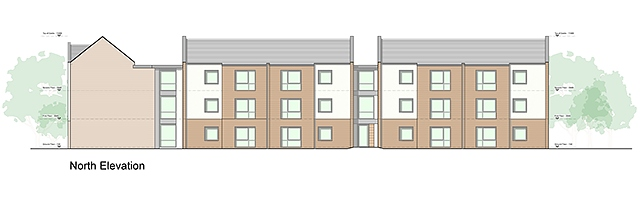 Supported living apartments planned near the Ladybarn