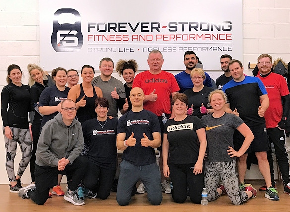 Members at Forever-Strong Fitness and Performance Centre