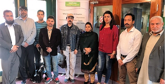 Consulate General of Pakistan staff with community members and councillors
