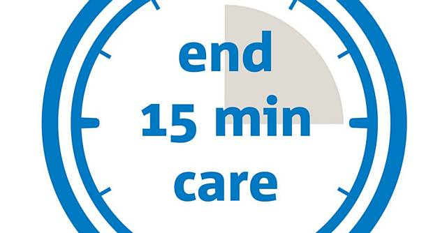 Help end 15 minute care visits