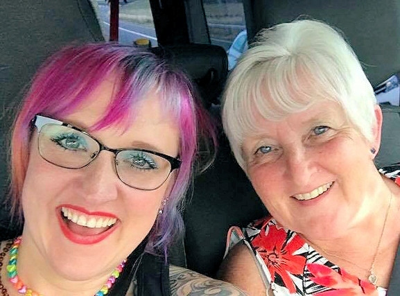 Jeni Wardley and her mum, Linda Chappell, are set to shave their hair to raise funds for charity