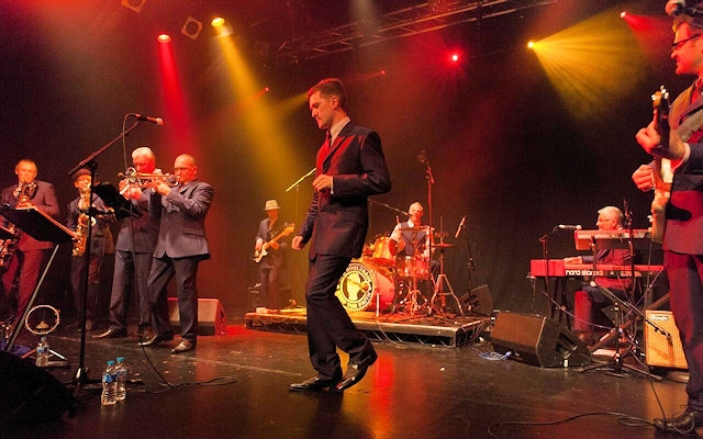 Northern Soul band 'The Soultrain' at Empire Rochdale, Saturday 30 December