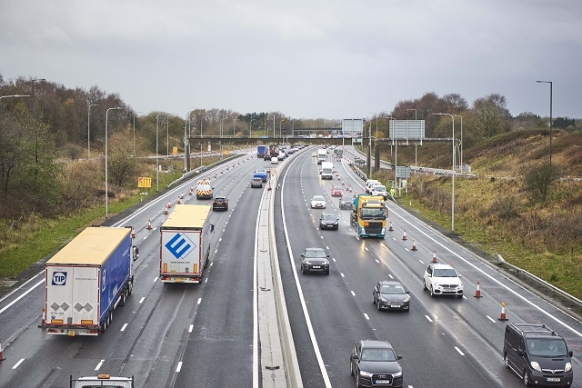 Drivers facing fines for ignoring smart motorway rules