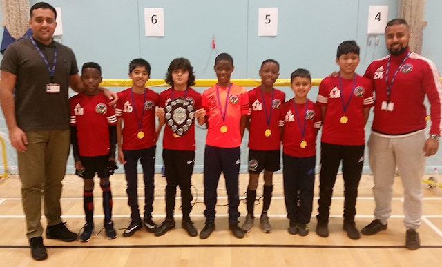 Heybrook - Rochdale Primary School five-a-side football champions