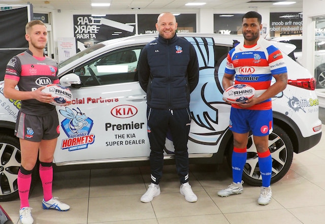 Rochdale Hornets launch new season kit