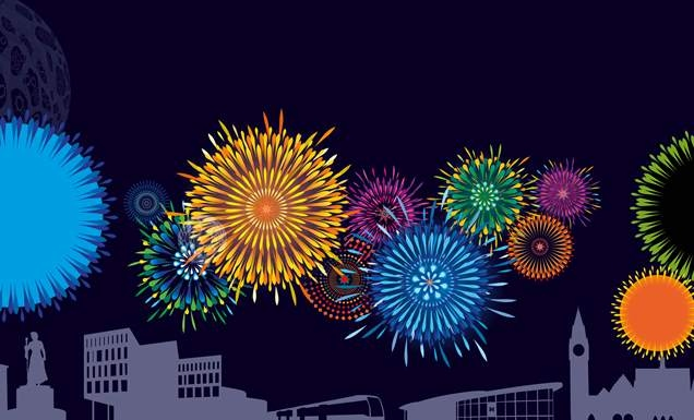 There will be two firework displays on New Year's Eve in Rochdale town centre