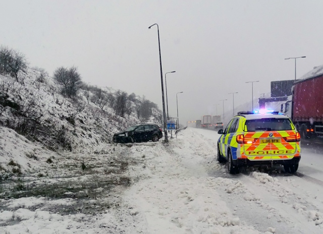 Don't drive unless essential - roads are already gridlocked in Oldham and Rochdale