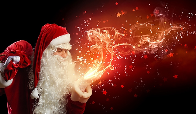 Help Santa create a little magic for children living in poverty and care