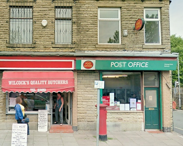 Newbold Post Office, Milnrow Road, Rochdale closed