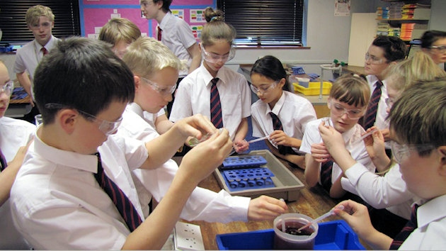 Science Club make squidgy slime and mummified apples