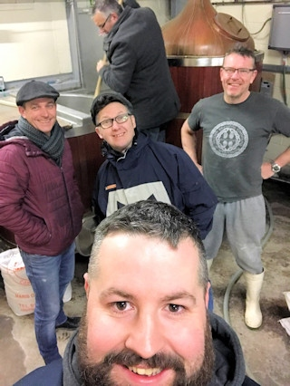 Front: Ben Boothman (The Flying Horse)<br />