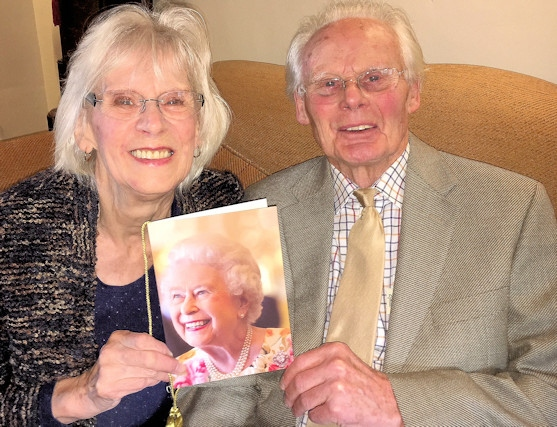 George and Audrey Howarth are celebrating 60 years of marriage on 7 December