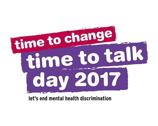 Time to Talk Day - Thursday 2 February 2017