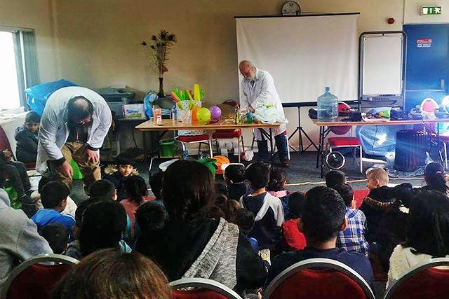Science Fair at Wardleworth Community Centre