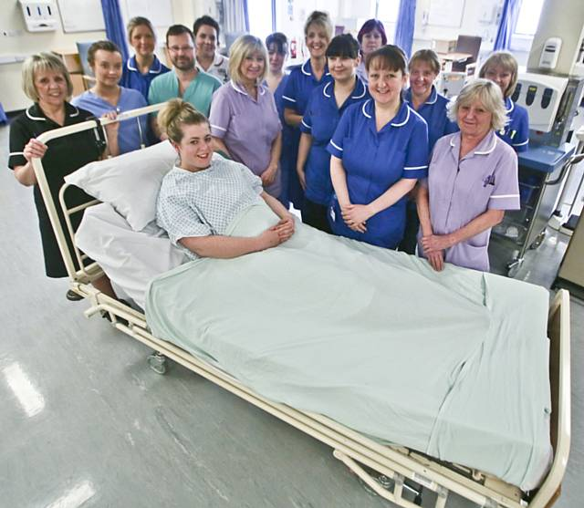 The Day Surgery and Operating Theatre Department at Rochdale Infirmary has opened eight new 23 hour post operative beds