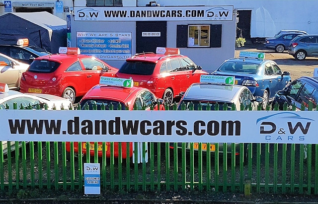 D&W Cars cover many market sectors, from the smallest, cheapest runabout right up to a nearly-new saloon car