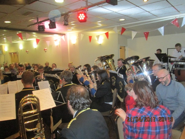 Milnrow Band St Georges Concert