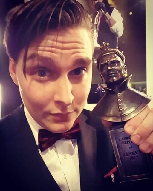 Brian Hook, Olivier Award Winner