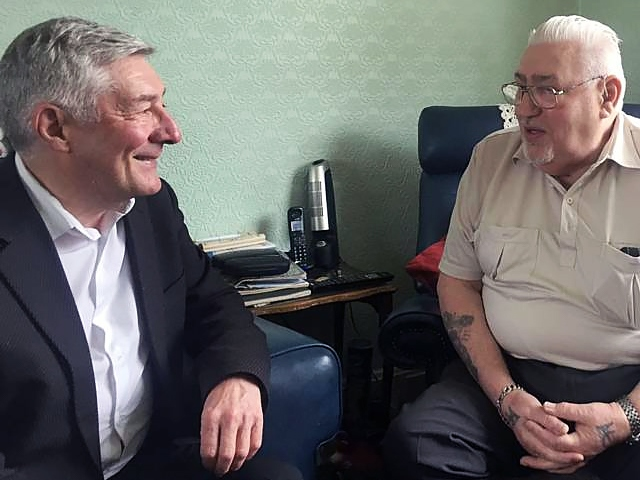 Tony Lloyd welcomes former Mayor Allan Whitehead back into the Labour Party