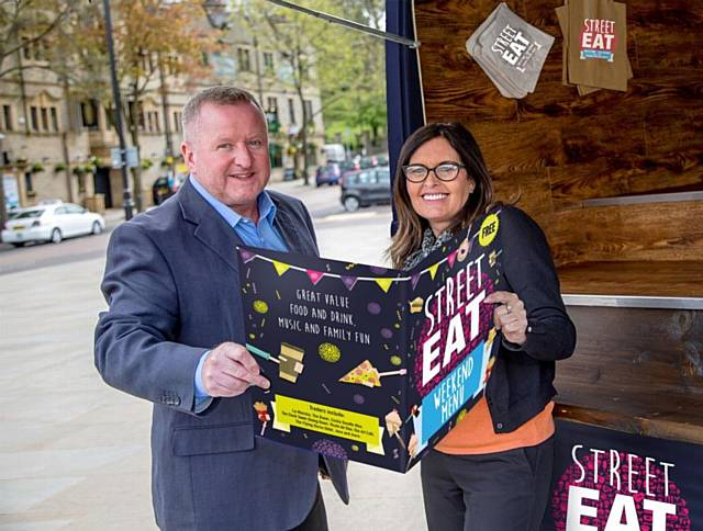Street Eat is coming to Rochdale Town Hall Square on Saturday 27 and Sunday 28 May