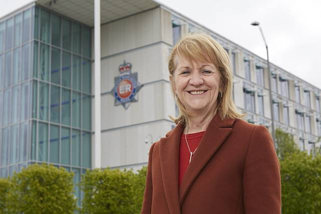Greater Manchester Deputy Mayor for Policing and Crime Beverley Hughes