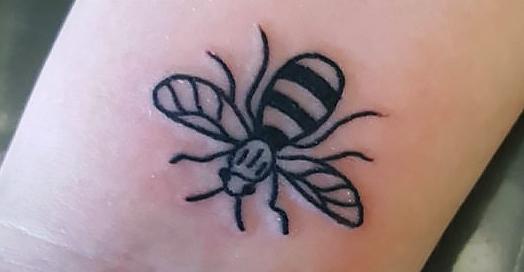 Rochdale news community news 21st century tattoo raise for Bee tattoo manchester