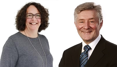 Sara Rowbotham and Tony Lloyd