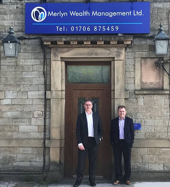 Directors Brian Adams and Phil Walton, Merlyn Wealth Management